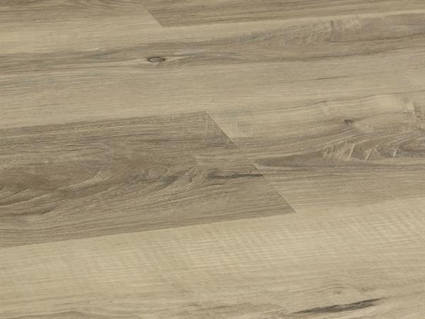 Vinylboden Holzoptik, Check one Heinrich Eiche, 4,0 x 180 x 1220 mm, scharfkantig, Nutzungsklasse 23/31, Nutzschicht 0,3 mm, mit stabiler RIGID Vinyl Trägerplatte