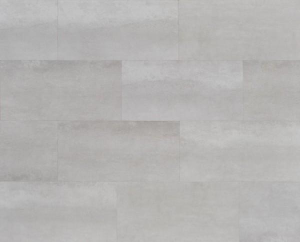 Vinylboden mit integrierter Trittschalldämmung in Fliesenoptik, MEFO FLOOR Larimar, 6,5 x 300 x 600 mm, Kanten gefast, Nutzungsklasse 33/42, Nutzschicht 0,5 mm, mit stabiler SPC Vinyl Trägerplatte