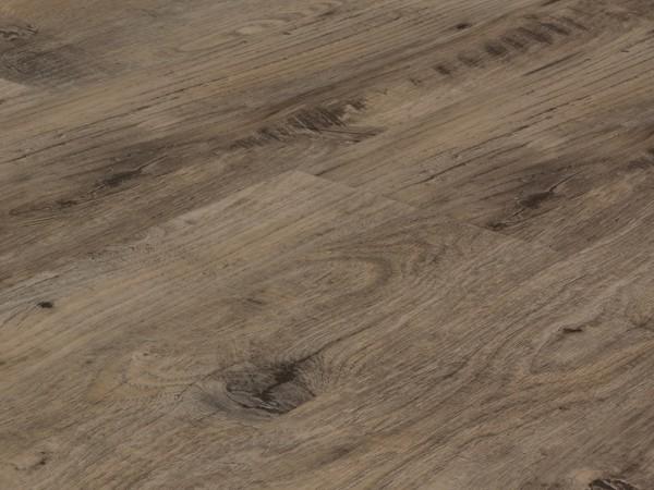 Vinylboden Holzoptik, Check one Achenbach Kastanie, 4,0 x 180 x 1220 mm, scharfkantig, Nutzungsklasse 23/31, Nutzschicht 0,3 mm, mit stabiler RIGID Vinyl Trägerplatte