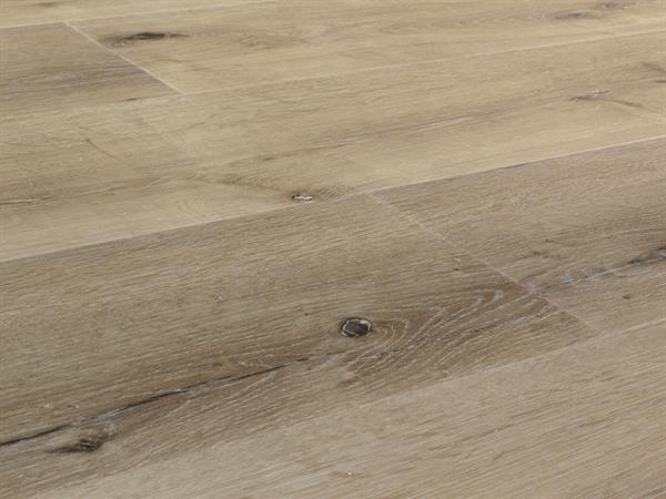Vinylboden Holzoptik, Check one Breitdiele Hellweg Eiche, 4,0 x 227 x 1220 mm, Kanten gefast, Nutzungsklasse 33/42, Nutzschicht 0,55 mm, mit stabiler RIGID Vinyl Trägerplatte