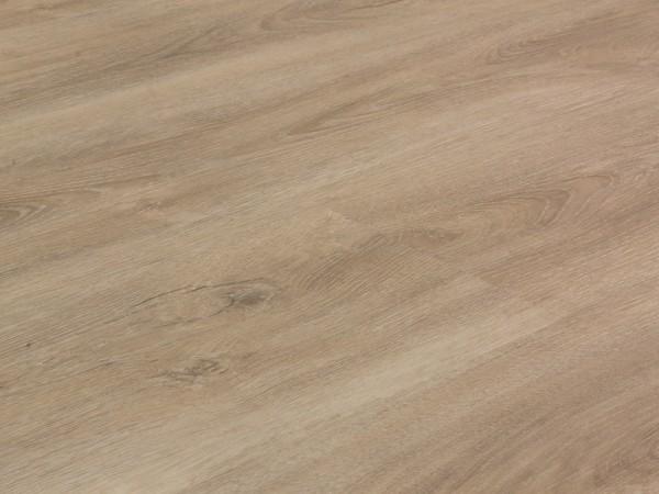 Vinylboden Holzoptik, Check one Herkules Eiche, 4,0 x 180 x 1220 mm, scharfkantig, Nutzungsklasse 23/31, Nutzschicht 0,3 mm, mit stabiler RIGID Vinyl Trägerplatte