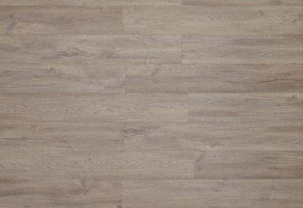 Restposten Vinylboden mit integrierter Trittschalldämmung, MEFO FLOOR Zirkon, in Holzoptik mit SPC Trägerplatte, 6,5 x 180 x 1220 mm, Kanten gefast, Beanspruchungsklasse 33/42, Nutzschicht 0,5 mm