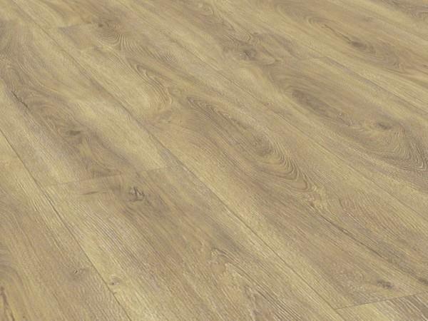 Vinylboden Holzoptik, Check one Breitdiele Wallach Eiche, 4,0 x 229 x 1220 mm, Kanten gefast, Nutzungsklasse 23/31, Nutzschicht 0,3 mm, mit stabiler RIGID Vinyl Trägerplatte