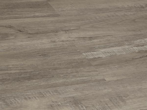 Vinylboden Holzoptik, Check one Theodor Eiche, 4,0 x 180 x 1220 mm, scharfkantig, Nutzungsklasse 23/31, Nutzschicht 0,3 mm, mit stabiler RIGID Vinyl Trägerplatte