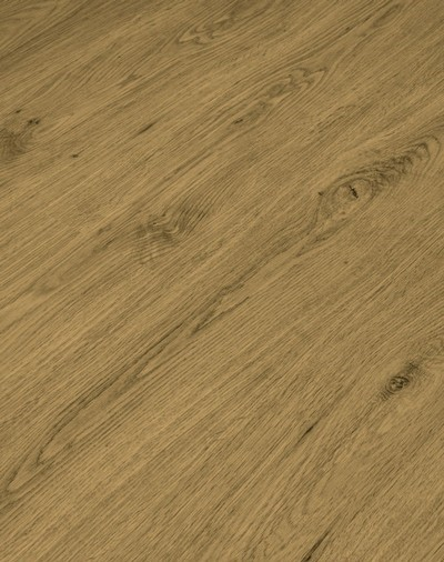 Vinylboden mit integrierter Trittschalldämmung, Futura Floors Cambridge, 6,5 x 175 x 1210 mm, Kanten gefast, Nutzungsklasse 33/42, Nutzschicht 0,5 mm, in Holzoptik mit stabiler SPC Vinyl Trägerplatte