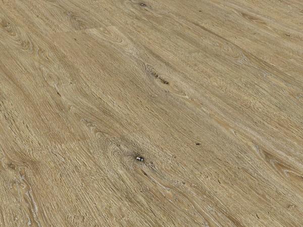 Vinylboden Holzoptik, Check one Breitdiele Carl Eiche, 4,0 x 229 x 1220 mm, Kanten gefast, Nutzungsklasse 23/31, Nutzschicht 0,3 mm, mit stabiler RIGID Vinyl Trägerplatte