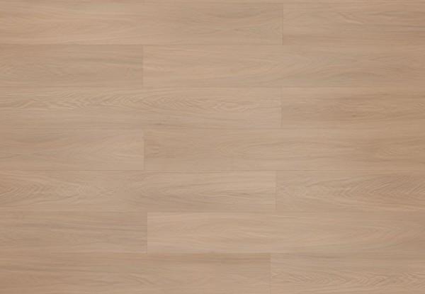 Restposten Vinylboden mit integrierter Trittschalldämmung, MEFO FLOOR Alabaster, in Holzoptik mit SPC Trägerplatte, 6,5 x 180 x 1220 mm, Kanten gefast, Beanspruchungsklasse 33/42, Nutzschicht 0,5 mm