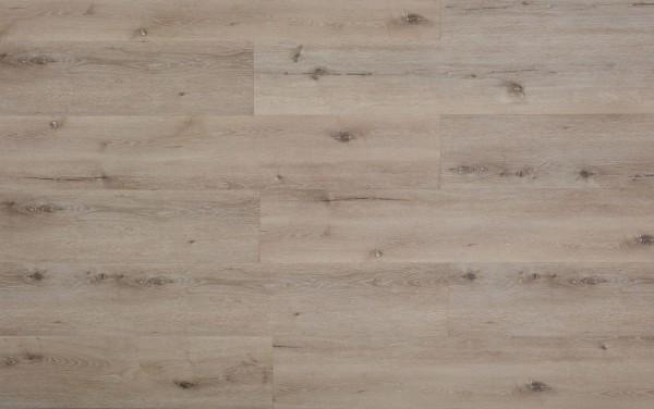 Vinylboden mit integrierter Trittschalldämmung, MEFO FLOOR XL Smaragd, 6,5 x 228 x 1524 mm, Kanten gefast, Nutzungsklasse 33/42, Nutzschicht 0,5 mm, in Holzoptik mit SPC Trägerplatte