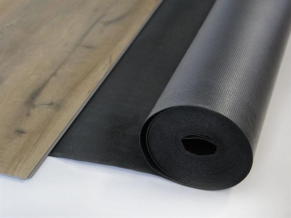 Gunreben Vinyl Akustik Silent Premium Trittschalldämmung 1,5 mm inkl. Dampfbremse Rolle mit 10 m²