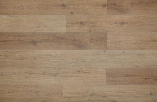Vinylboden mit integrierter Trittschalldämmung, MEFO FLOOR XL Rubin, 6,5 x 228 x 1524 mm, Kanten gefast, Nutzungsklasse 33/42, Nutzschicht 0,5 mm, in Holzoptik mit SPC Trägerplatte