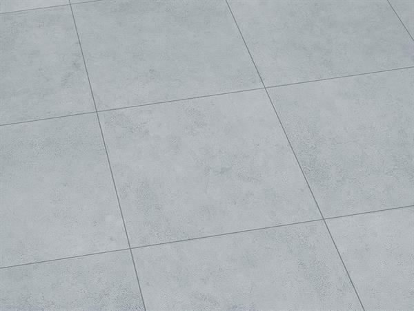 Vinylboden Fliesenoptik, Check one Stadtwald Beton, 4,0 x 457 x 457 mm, Kanten gefast, Nutzungsklasse 33/42, Nutzschicht 0,55 mm, mit stabiler RIGID Vinyl Trägerplatte