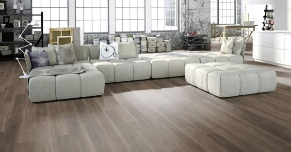 Vinylboden Holzoptik, Gunreben Merkur Home, 4,2 x 182 x 1220 mm, scharfkantig, Nutzungsklasse 23/31, Nutzschicht 0,3 mm, mit elastischer Vinyl Trägerplatte