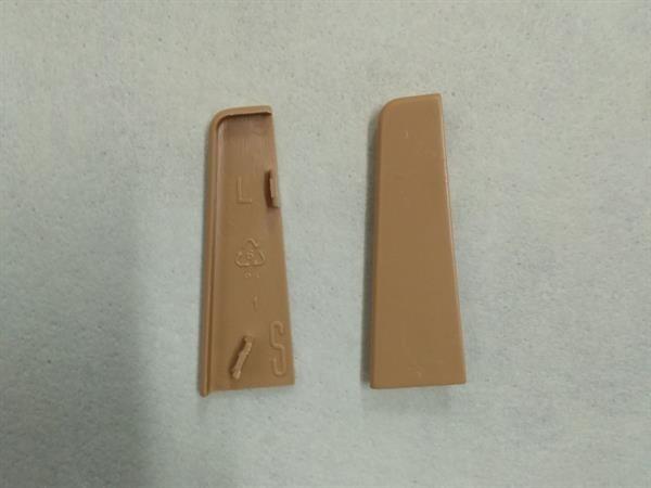Check Sockelleisten Endstück im Farbton eiche Set mit 2 Stück