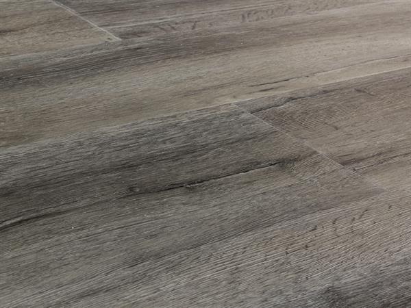 Vinylboden Holzoptik, Check one Breitdiele Auguste Eiche, 4,0 x 227 x 1220 mm, Kanten gefast, Nutzungsklasse 33/42, Nutzschicht 0,55 mm, mit stabiler RIGID Vinyl Trägerplatte