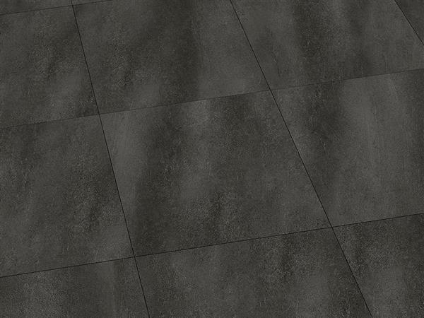 Vinylboden Fliesenoptik, Check one Borbeck Schiefer, 4,0 x 457 x 457 mm, Kanten gefast, Nutzungsklasse 33/42, Nutzschicht 0,55 mm, mit stabiler RIGID Vinyl Trägerplatte