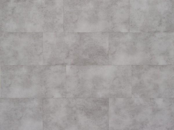 Vinylboden mit integrierter Trittschalldämmung in Fliesenoptik, MEFO FLOOR Tansanit, 6,5 x 300 x 600 mm, Kanten gefast, Nutzungsklasse 33/42, Nutzschicht 0,5 mm, mit stabiler SPC Vinyl Trägerplatte